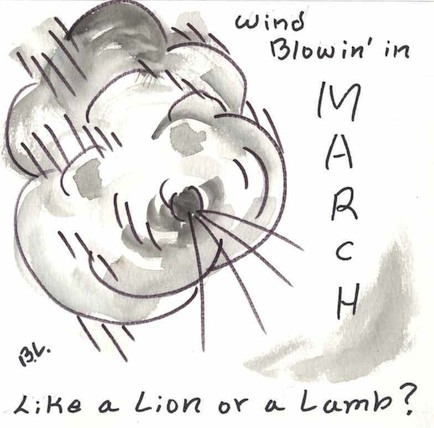 Wind Blowin' in March - Like a Lion or a Lamb?