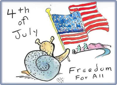 4th of July - Freedom for All